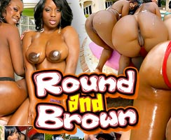 Roundandbrown finest premium porn site for ebony girls