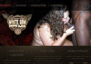 Popular interracial porn site for chubby girls lovers.