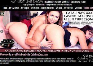 Amazing pay sex site for Catalina Cruz live shows.