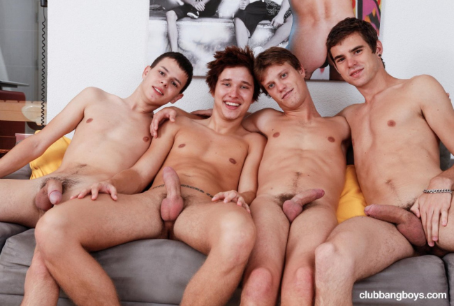 High quality gay porn site for group sex scenes.