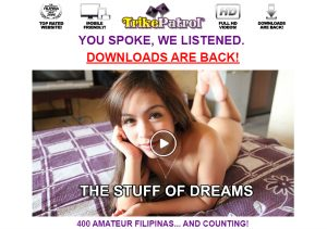 One of the most popular porn sites for sexy Filipinas.