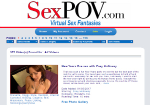 Top pay porn site for POV videos.