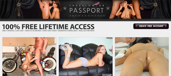 Good blowjob porn site with free content